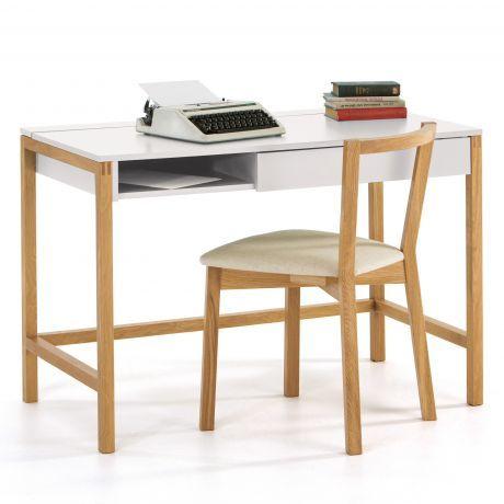 Schreibtisch Northgate Von Woodman Mit Klappfach In Weiss Mit