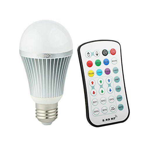 Coidak E26 Rgb W Led Color Changing Light Bulb With 2 4g Https Www Amazon Com Dp B00zk5z1py Re Color Changing Light Bulb Light Bulb Color Changing Lights
