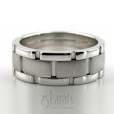 Cute Rolex Style Handmade Wedding Ring
