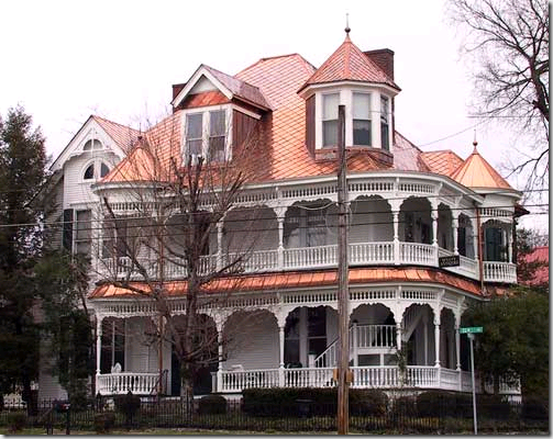 Designties Hooked On Copper Victorian Homes Copper Roof Huge Houses