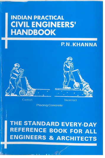 Practical Civil Engineers Handbook By P N Khanna Free