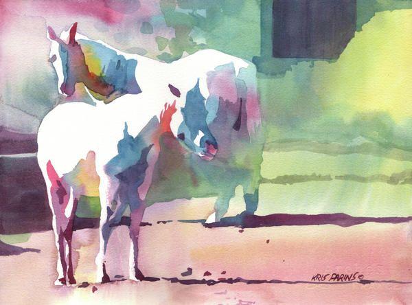 Kris Parins Peinture Aquarelle