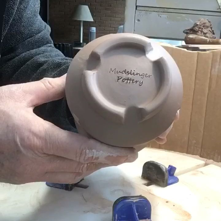 Finishing bottoms of mugs #potterytechniques