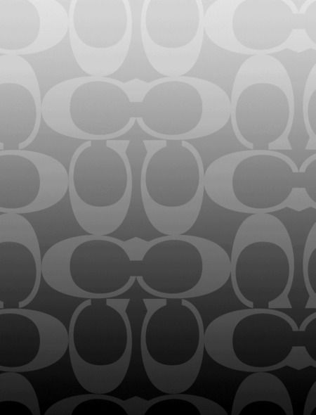 coach in black  grey  and silver wallpaper for iphone 5