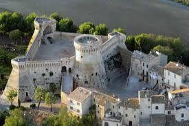 Castello-fortezza Rocca di Acquaviva Picena, (XIII-XV sec.) Marche