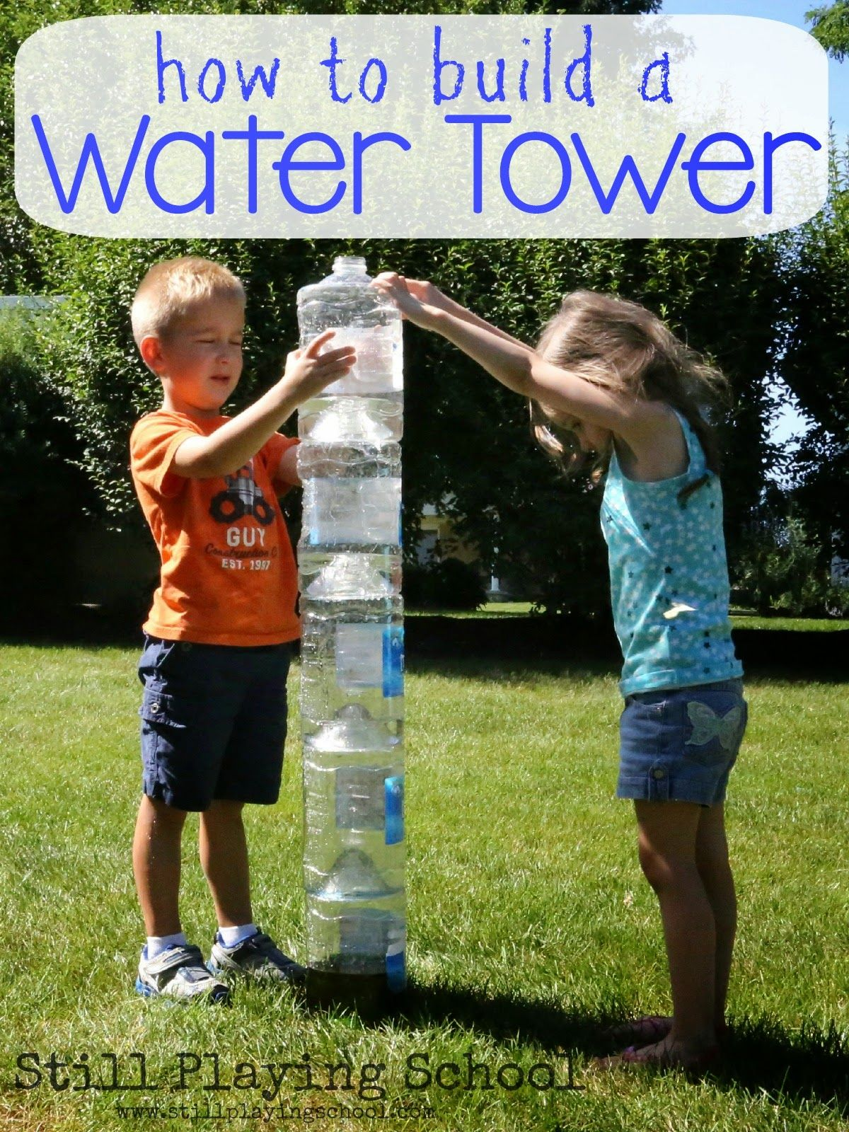 Kinder Garden: Outside Water Play Ideas For Kids