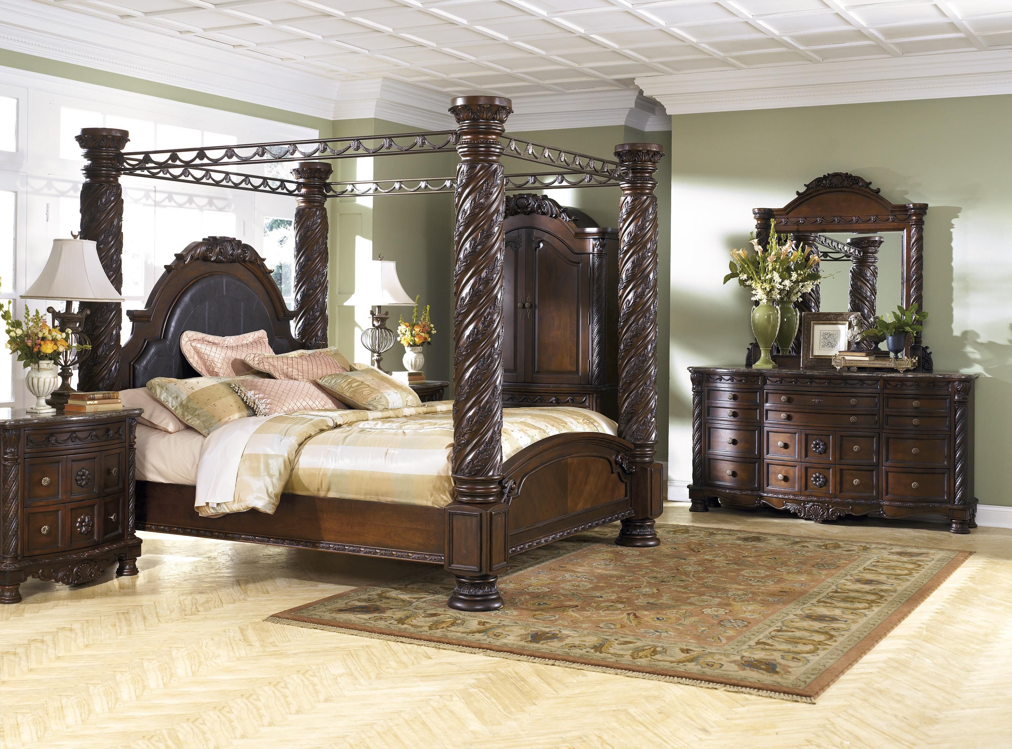 North Shore King Bedroom Group by Millennium at Furniture