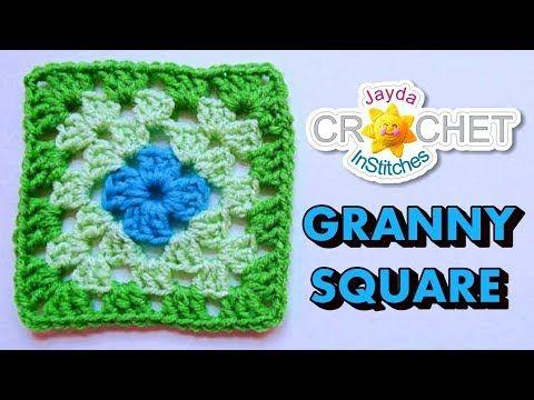 VERY EASY crochet granny square blanket - never ending crochet ...