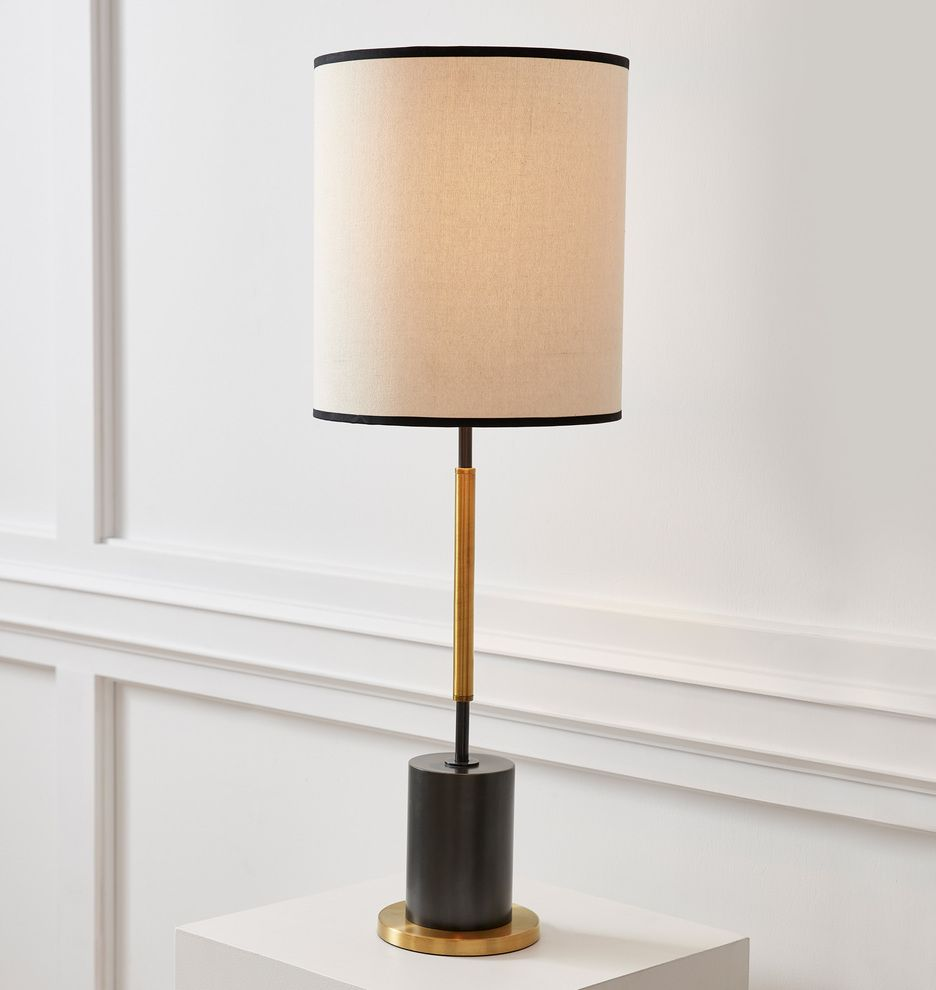 Cylinder Tall Table Lamp Tall Table Lamps Tall Table Table Lamp