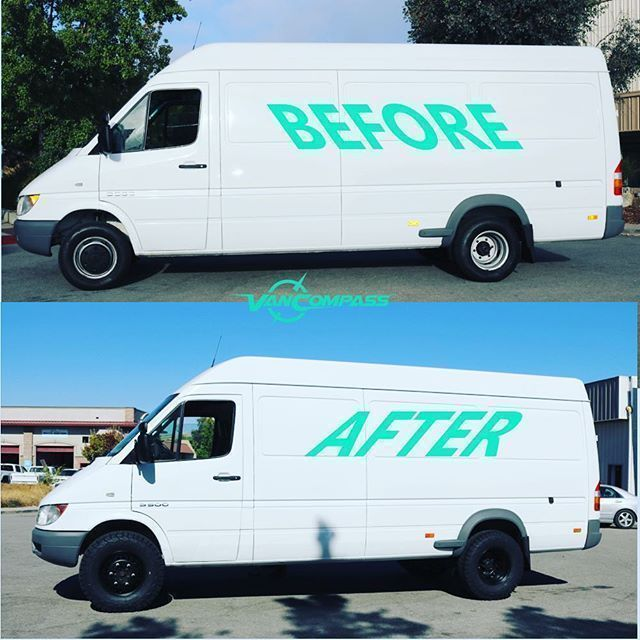 From delivery van to adventure van. #vancompass #mercedessprinter #sprintervan #sprinter #bfg #vanlife #liftkit #offroad #overland #expo #adv #motovan #adventurevan #adventuremobile #lifted #liftedvan #sprintervanlife #vanlifeideas #campervan #camping #glamping #4x4sprinter #sprinter4x4 #campеr From delivery van to adventure van. #vancompass #mercedessprinter #sprintervan #sprinter #bfg #vanlife #liftkit #offroad #overland #expo #adv #motovan #adventurevan #adventuremobile #lifted #liftedvan #s #campеr