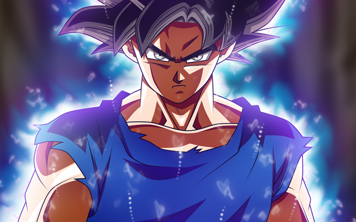 Download Wallpapers Son Goku 4k Art Dbz Dragon Ball Super Characters Goku Besthqwallpapers Com Anime Dragon Ball Super Goku Wallpaper Anime Dragon Ball