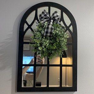 Photo of Farmhouse wreath eucalyptus wreath modern farmhouse wreath Peony wreath wreaths for front door
