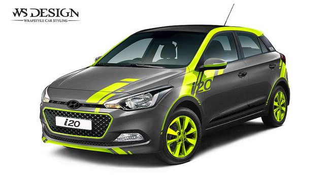 Hyundai I20 Design Car Wrap Car Vehicle Signage