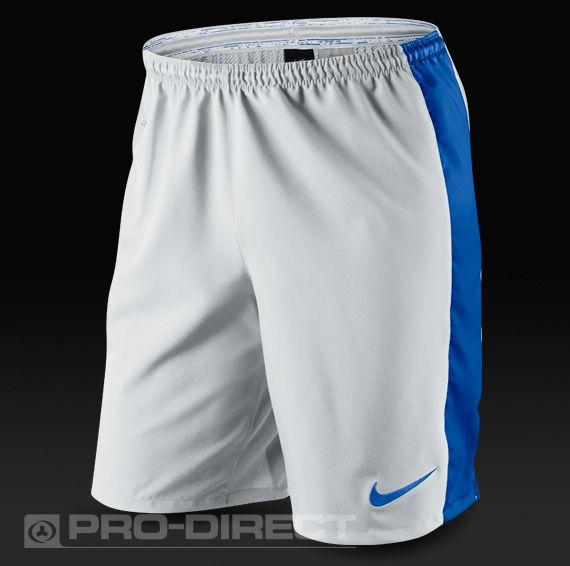 910a0108e8 Nike Laser IV Woven Football Shorts - White Blue