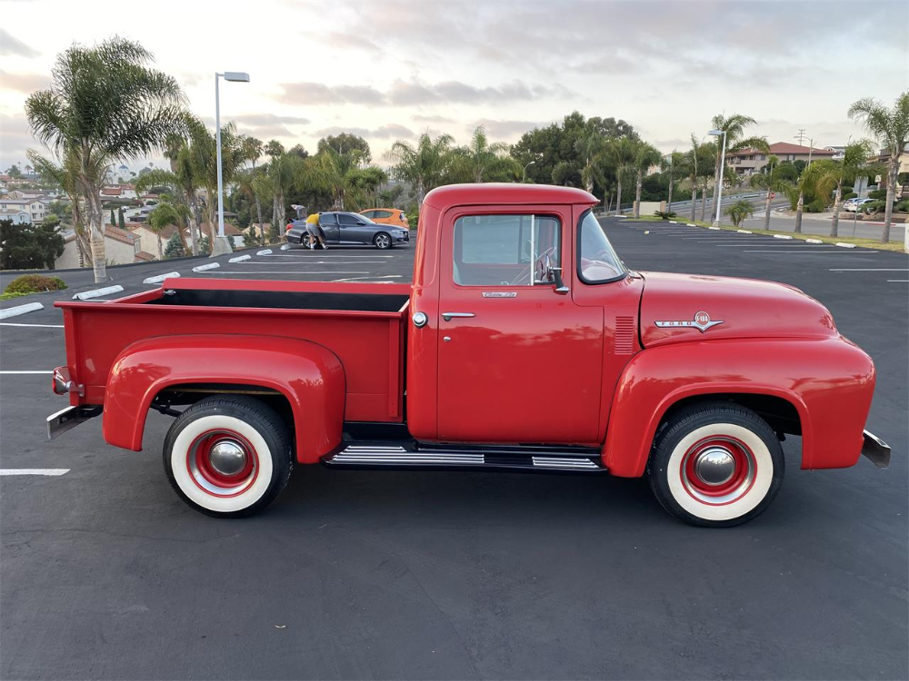1956 Ford F100 Cc 1380450 For Sale In San Diego California In 2020 1956 Ford F100 Old Ford Trucks 1956 Ford Truck