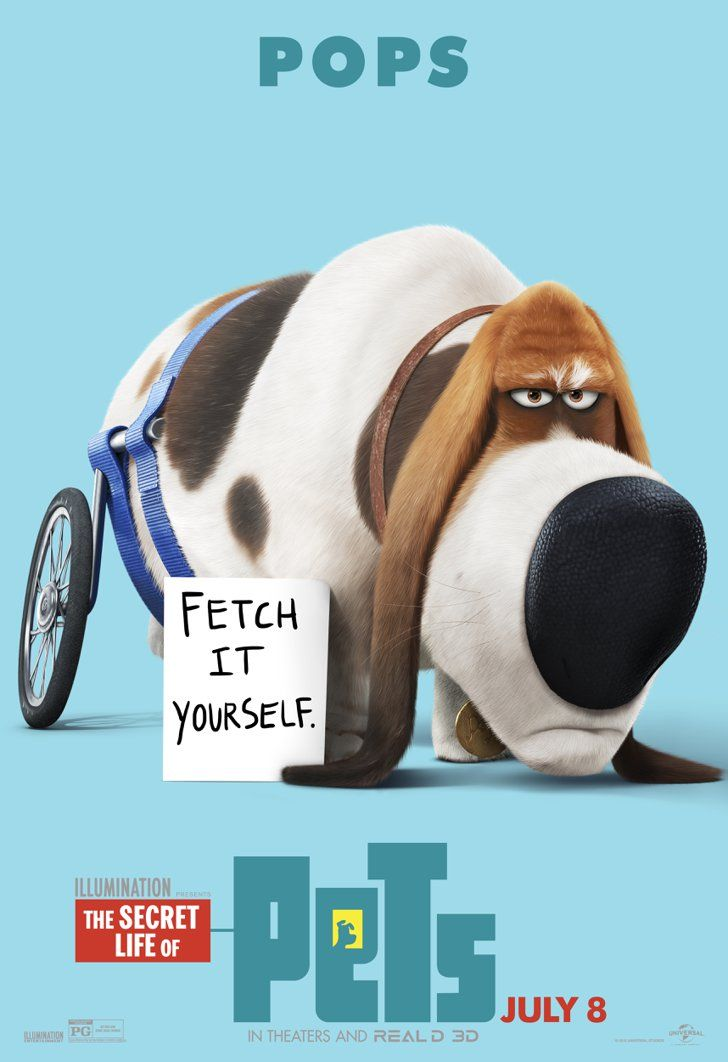 The Secret Life Of Pets Character Posters Are Here And They Re Cuter Than The Trailer Pets Movie Secret Life Of Pets Pet Pop
