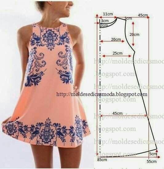 Moldes Vestidos Pinterest Sewing Patterns Patterns And Dress