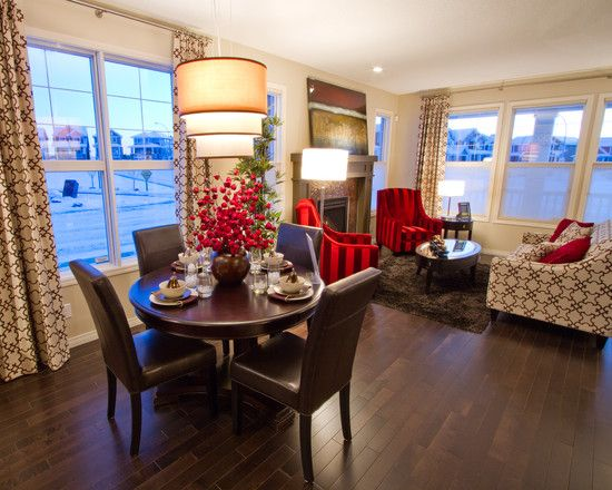 Living room dining room combo design pictures remodel - Dining room and living room combined ...