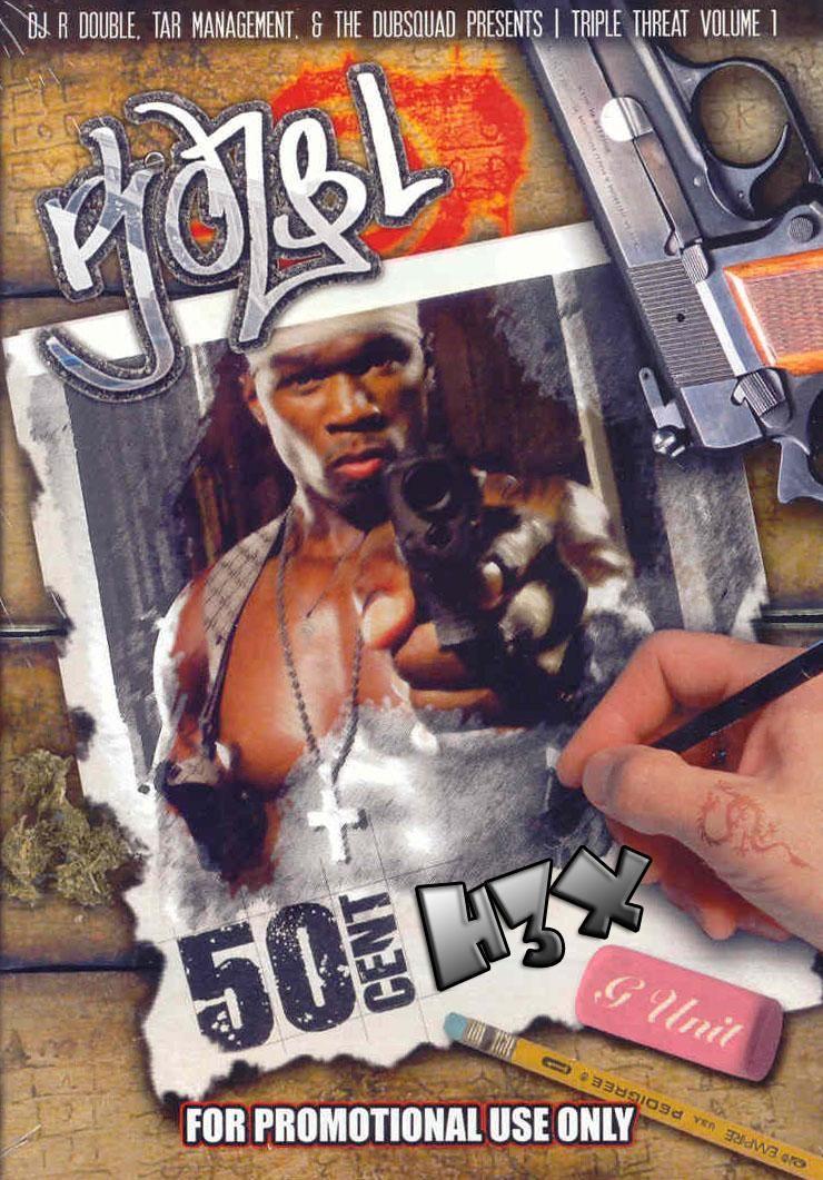 50 Cent - Triple Threat | 50 Cent Mixtapes | Deadpool videos, Games