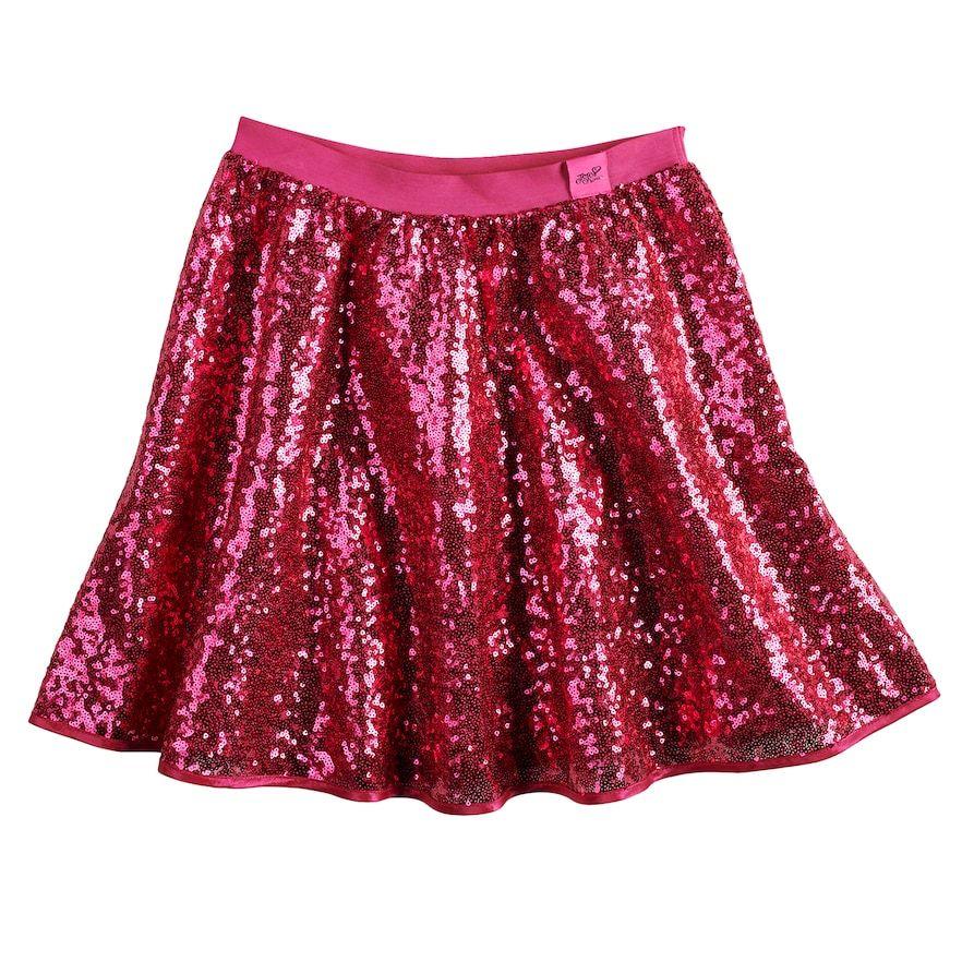 1619f4f78f Girls 7-16 JoJo Siwa Sequined Skirt | Products | Jojo siwa, Sequin ...