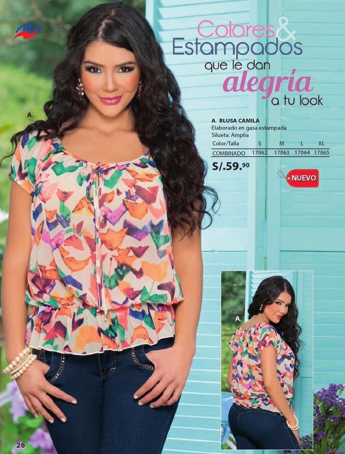 Catalogo Nivi Peru Campana 12 13 2014 Ropa Catalogo Blusas