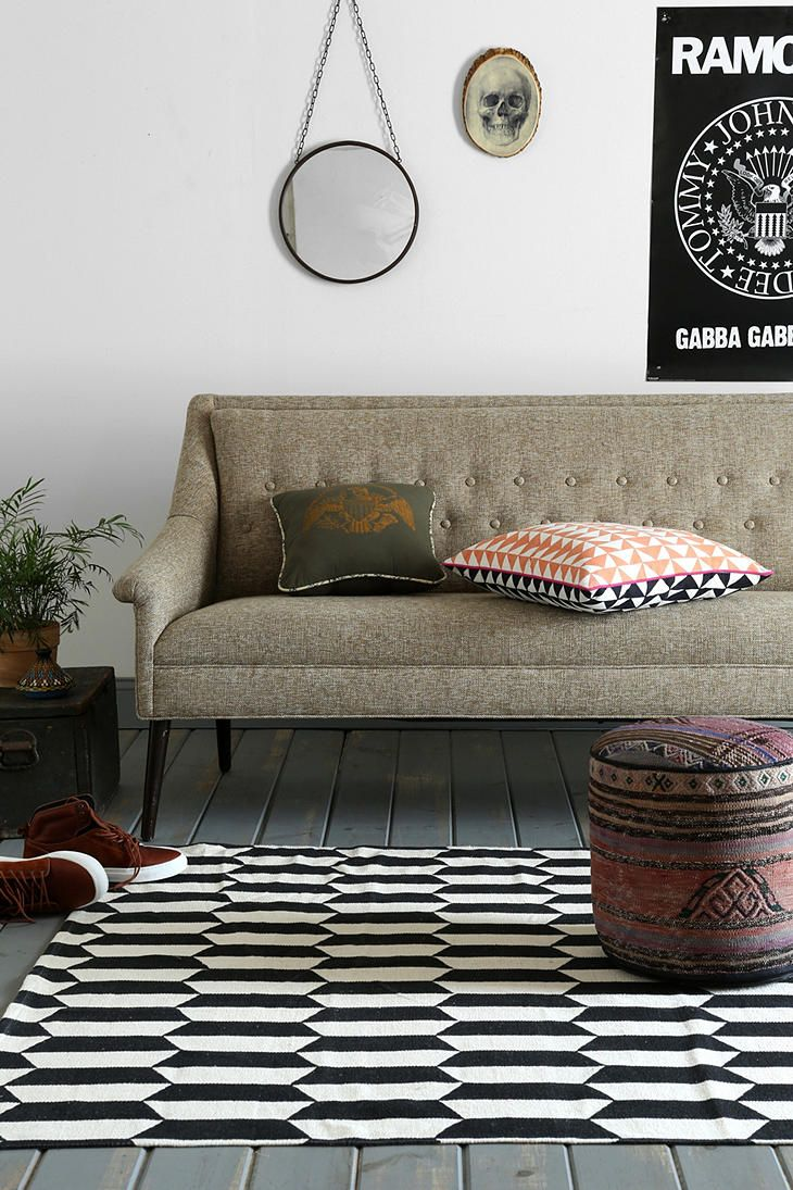 Assembly Home Stacked Bar Rug - Urban Outfitters