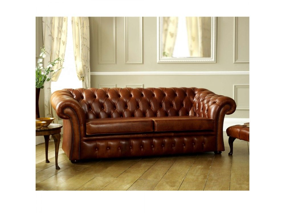 brown leather chesterfield sofa pemberton english. Interior Design Ideas. Home Design Ideas