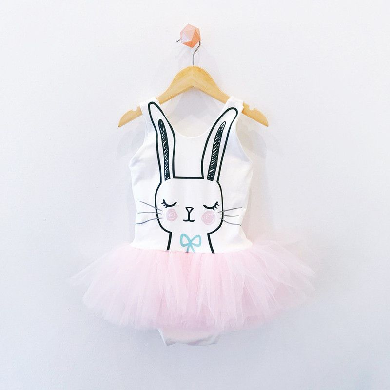 Lovely Baby Girl Boy Easter Bunny Top Tutu Romper Jumpsuit Holiday Party Outfits