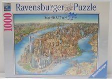 Aquarius Puzzles Subway Map.Ravensburger Manhattan New York Map Jigsaw Puzzle 1000 Piece Happy