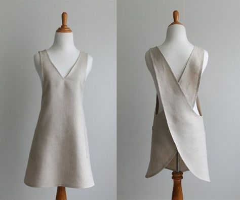 Japanese Apron Sewing Pattern PDF - The BACK WRAP- Instant Download ...
