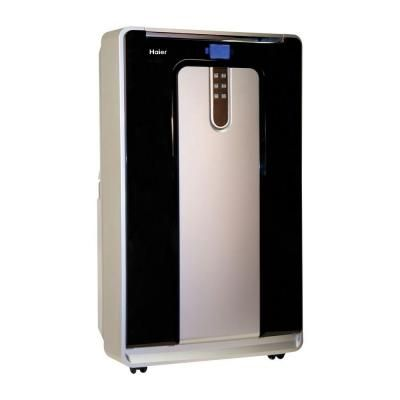 Haier 12 000 Btu 450 Sq Ft Cool Only Portable Air Conditioner With 100 Pt Day Dehumidification Mode And Lcd Remote Control Hpn12xcm The Home Depot Portable Air Conditioner Portable Air Conditioner Window