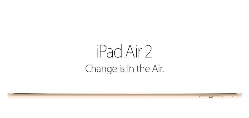 Los primeros pedidos del iPad Air 2 comienzan a enviarse