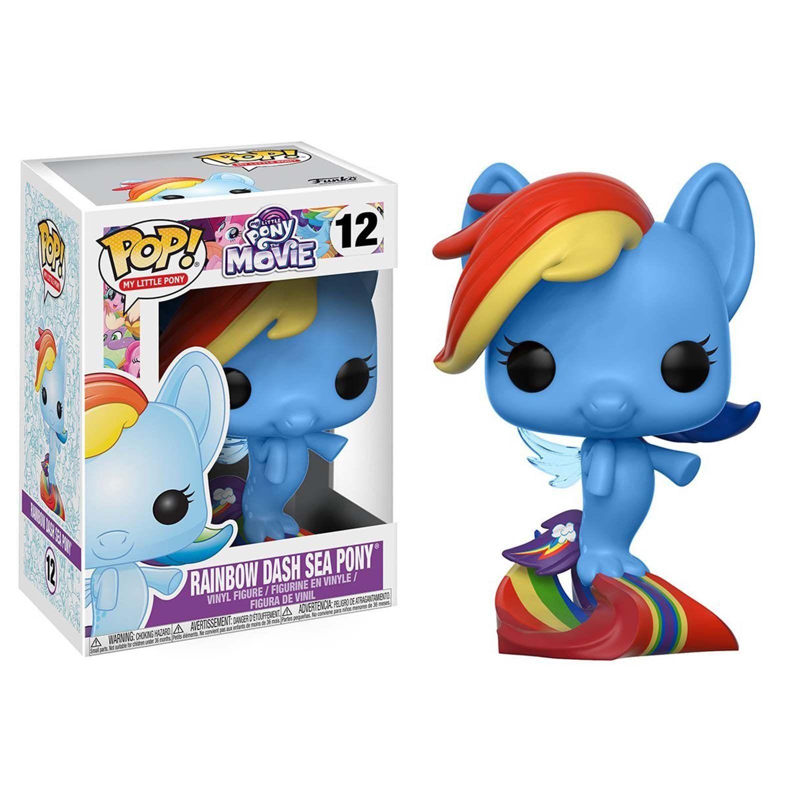 "Exclusive my little pony rainbow DASH 3.75/"" figurine en vinyle POP"