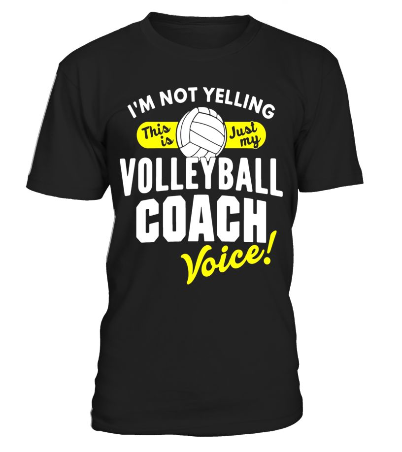 c7aeaa37d Volleyball Coach Voice Shirt Funny Slogan Quote Youth Sports Funny  Volleyball T-shirt, Best Volleyball T-shirt