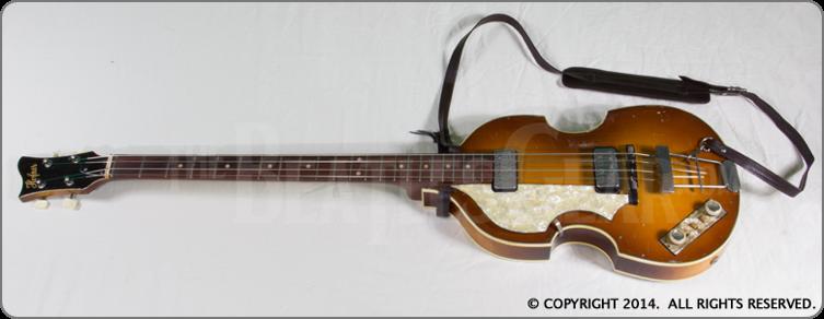 1962 63 Hofner 500 1 Bass Left Handed Bass Guitar Tabs Guitar Guitar Guy