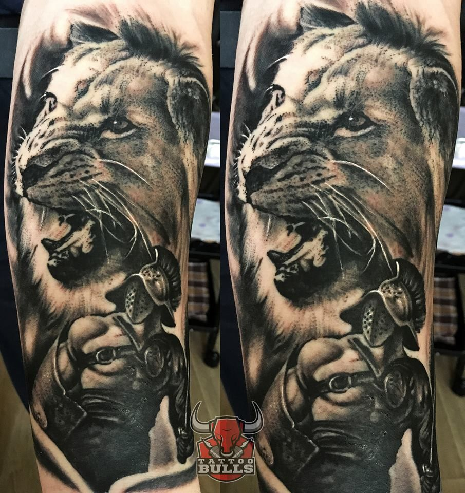 cda731c637ed7 Lion tattoo by Emilio. Limited availability at Redemption Tattoo Studio.