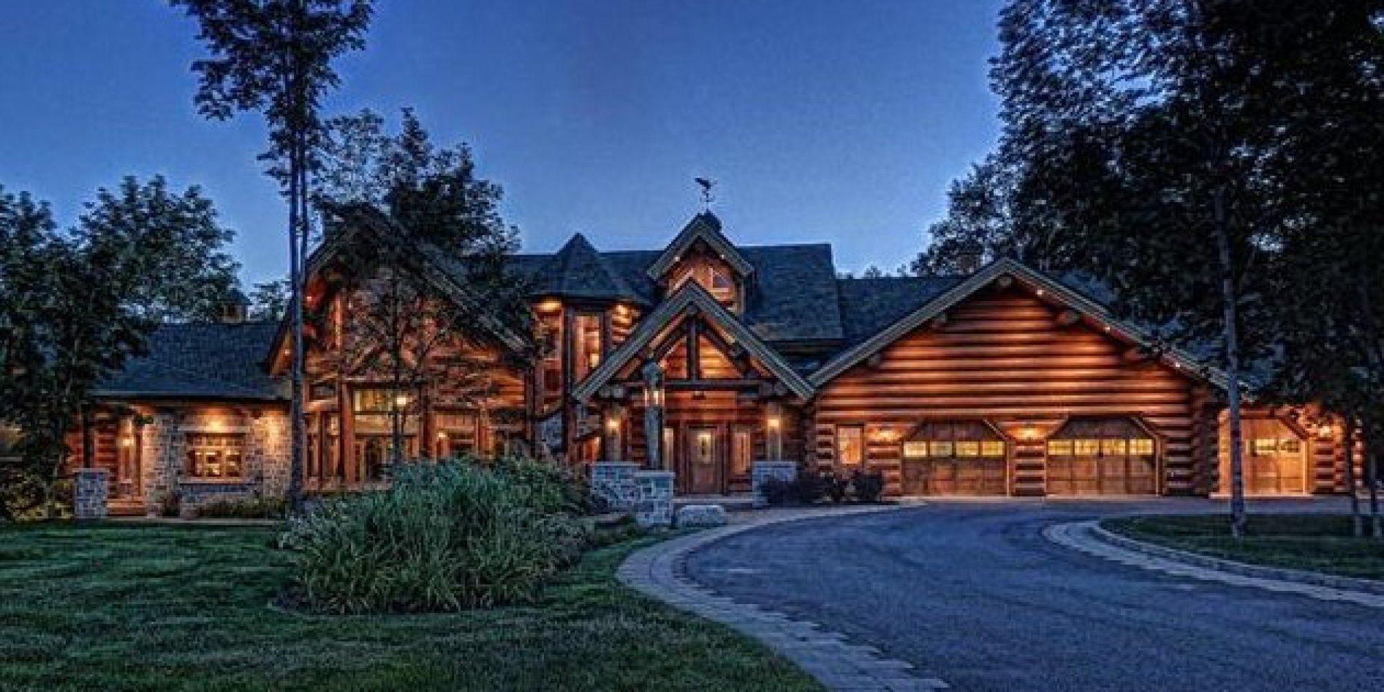 4 5m log wood maisons bois rond maison