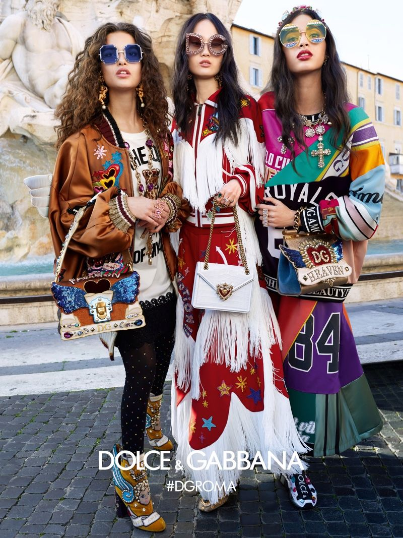 b5620fb0b2 Sunglasses take the spotlight in Dolce   Gabbana fall-winter 2018 campaign