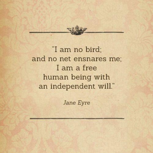 I Am Free Quotes I am no bird; and no n...
