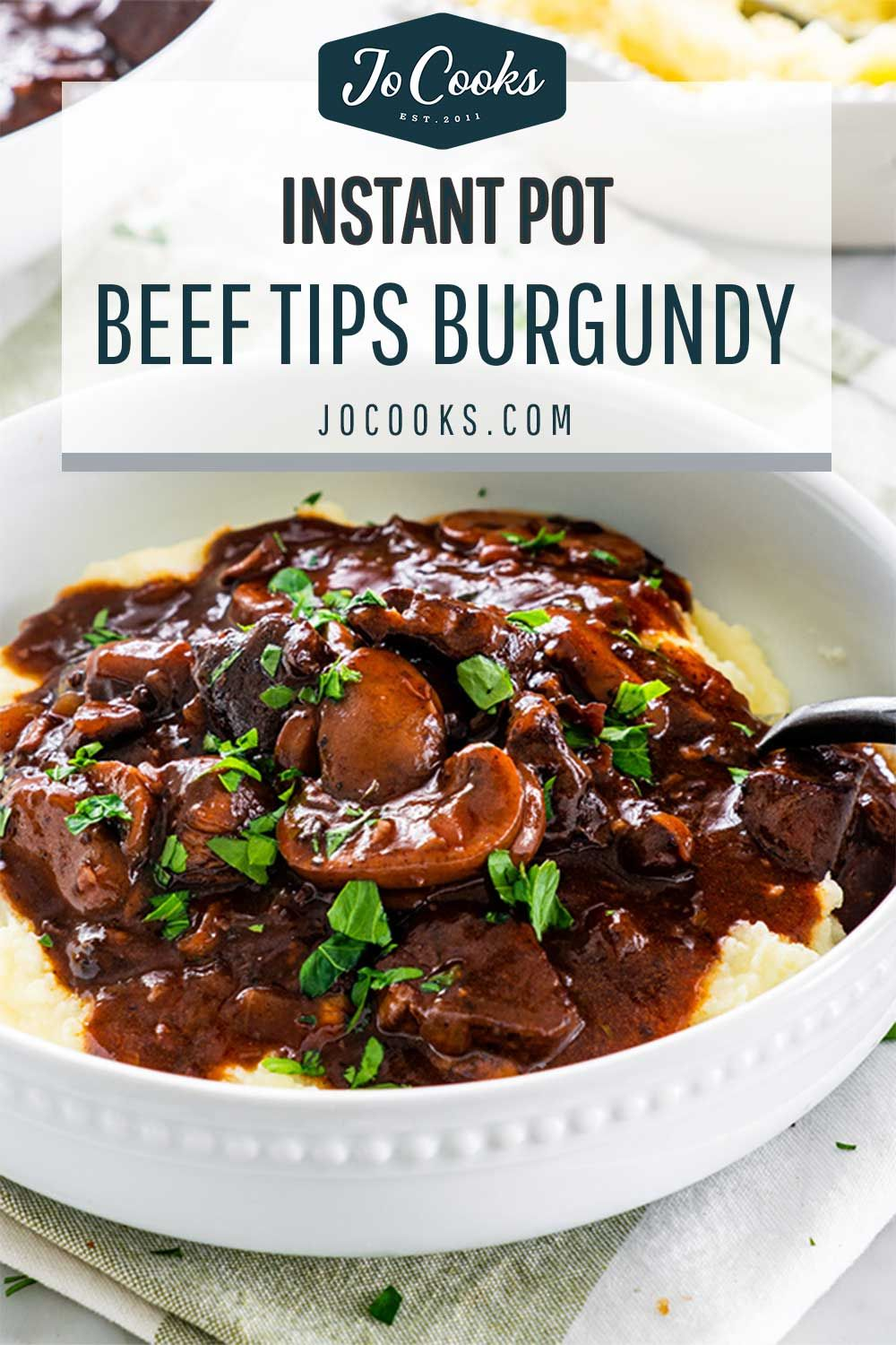 Instant Pot Beef Burgundy Made With A Full Bottle Of Red Wine And Fall Apart Tender Morse Beef Recipe Instant Pot Instant Pot Beef Instant Pot Dinner Recipes
