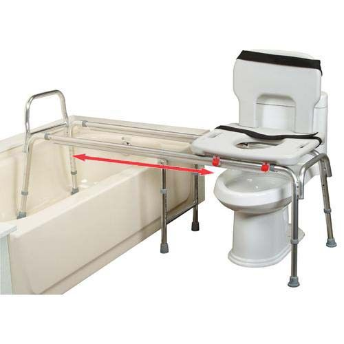 Sliding Tub Transfer Bench #DisabledBathroomTips >> See more ...