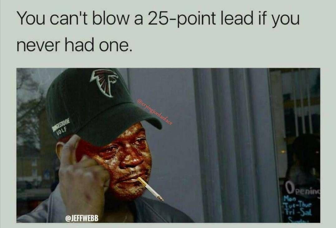 Hajahahaha Credit Jeff Webb Cryingjordanface Cryingjordan Falcons Atlanta Nflweek7 Jordan Meme Memes Jordans