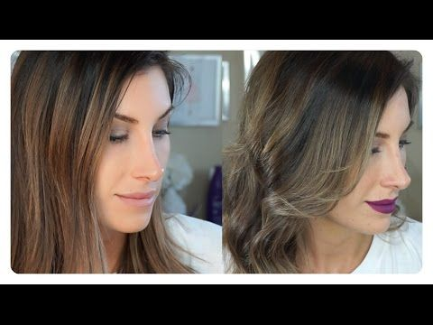 How I Tone My Hair At Home Hair Toning Tutorial Wella 050 Wella T18 Wella T35 Toner For Brown Hair Wella Hair Color Brown Hair With Blonde Highlights