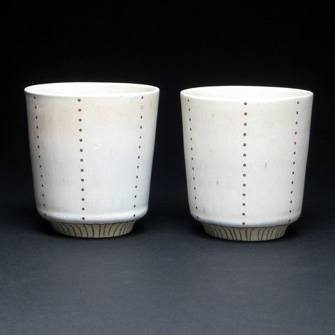 Share A Cup Of Wine On Valentine S Day With Your Better Half In These Cups By Haejung Lee That Emanate Quiet Beauty Http Www Ceramic Cups Cups And Mugs Mugs