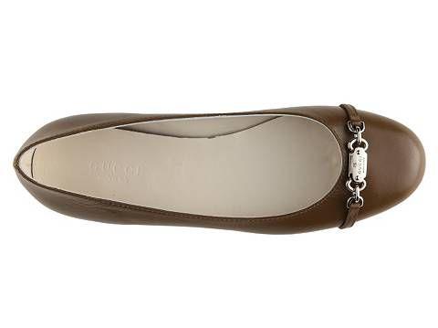 092abbb7f8b Gucci Women s Leather Ballet Flat Flats Women s Shoes - DSW