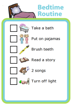Bedtime routine chart free download editable in word kids pinterest and also rh