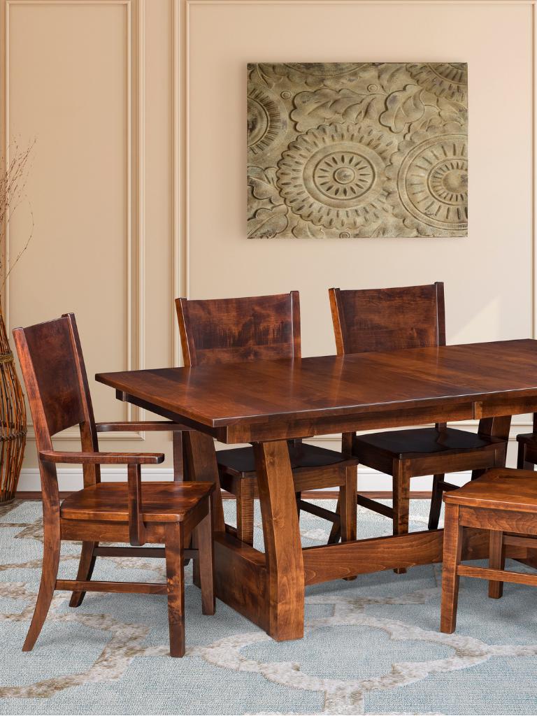The Contemporary Ceresco Series Amish Diningroom Furniture