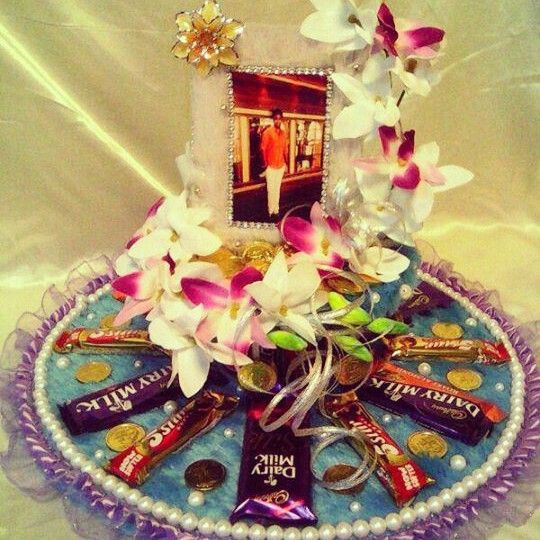 Chocolate tray chocolate bouquet pinterest trays chocolate thaal decoration ideas with sweets for different functions junglespirit Images