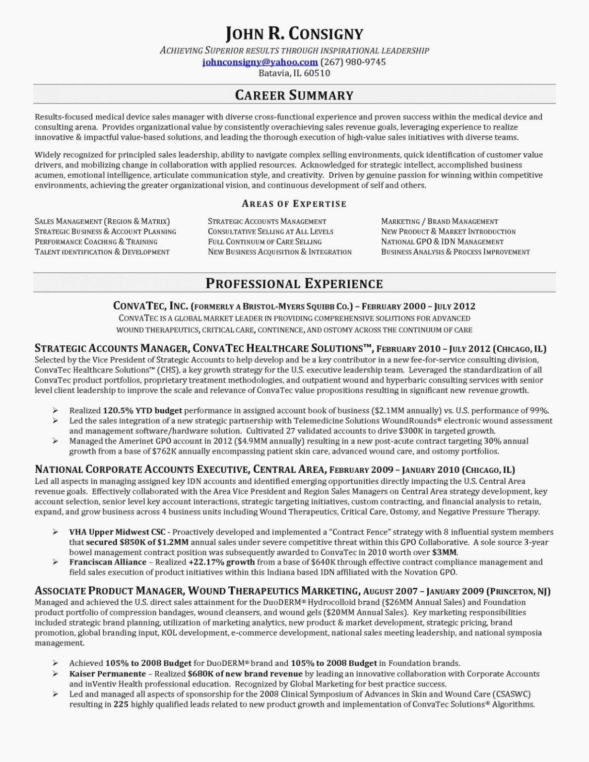 40 Entry Level Sales Resume in 2020 Manager resume