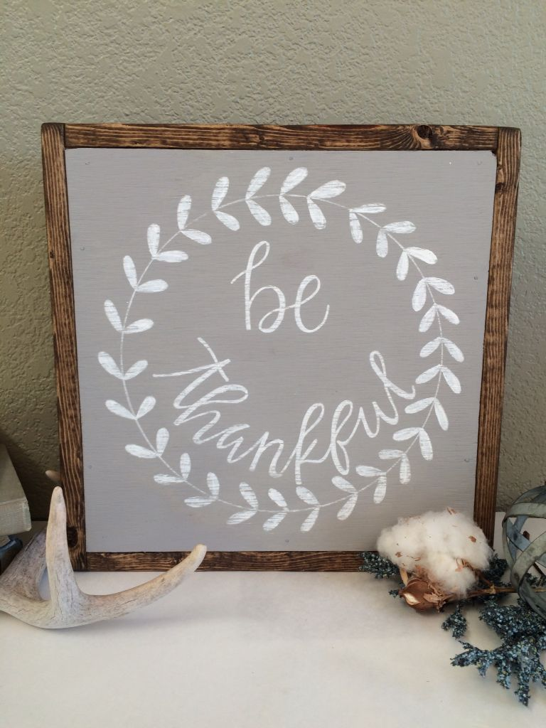 Be Thankful Sign, Wreath Signs, Thankful Signs, Wood Signs, Wood Thankful  Signs